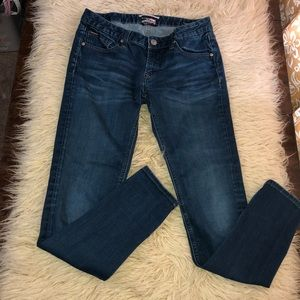 SILVER LOLA Lightly distressed bootcut 30/31